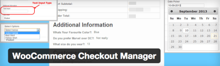 Free WooCommerce Extension Checkout Manager