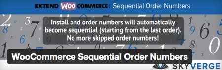 Free WooCommerce Extension Sequential Order Numbers