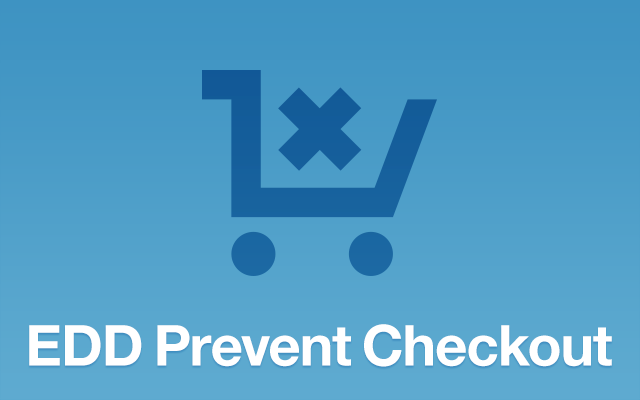 edd prevent checkout
