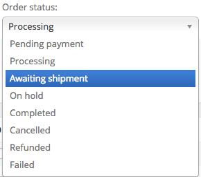 WooCommerce Custom Order Status