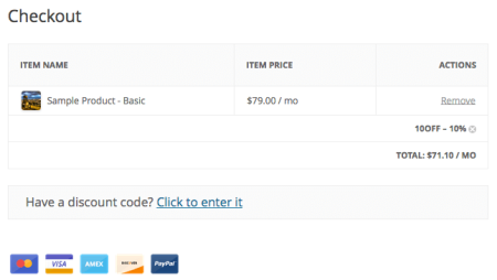 EDD Checkout w/discount