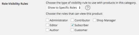 WooCommerce Catalog Visibility Options catalog