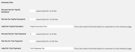 Easy Digital Downloads Gateway Fee