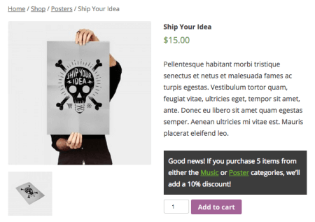 WooCommerce Conditional Content Notice Styles