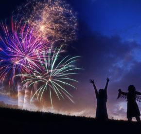 Fireworks explode for Fourth of July marketing emails