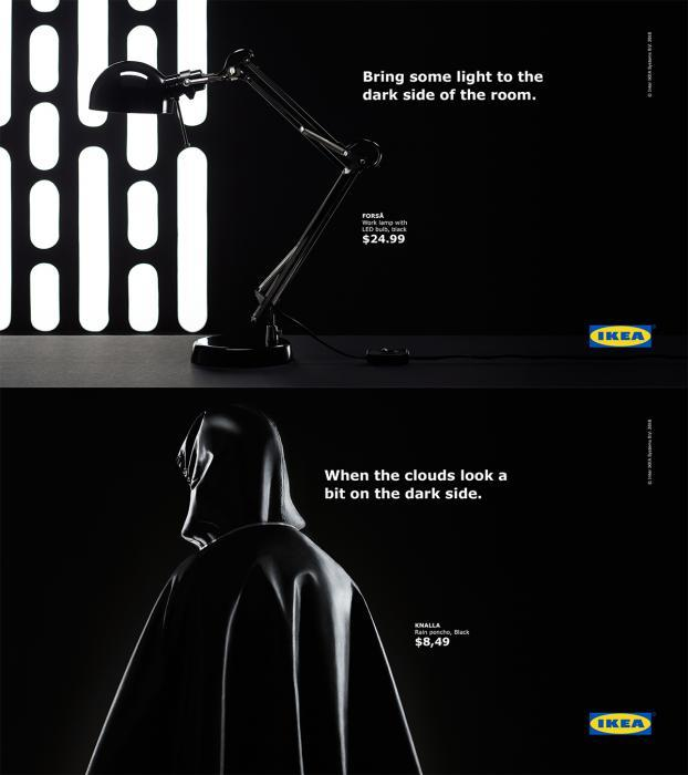 IKEA May the Fourth ad.