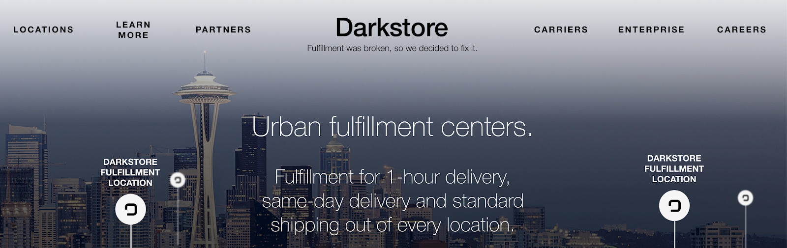 Darkstore offers fulfillment options for smaller companies.