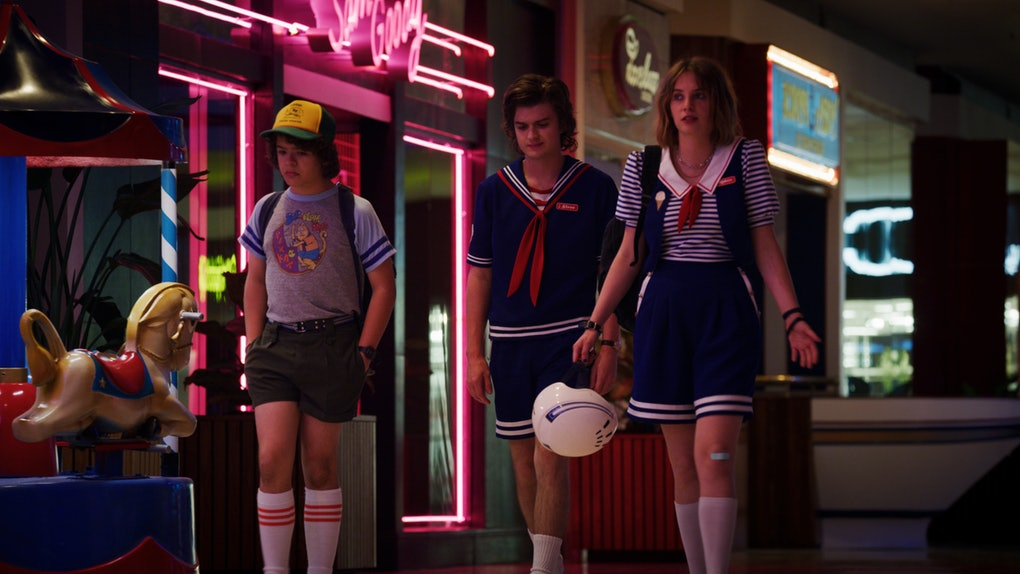 Stranger Things takes advantage of an abandoned mall.