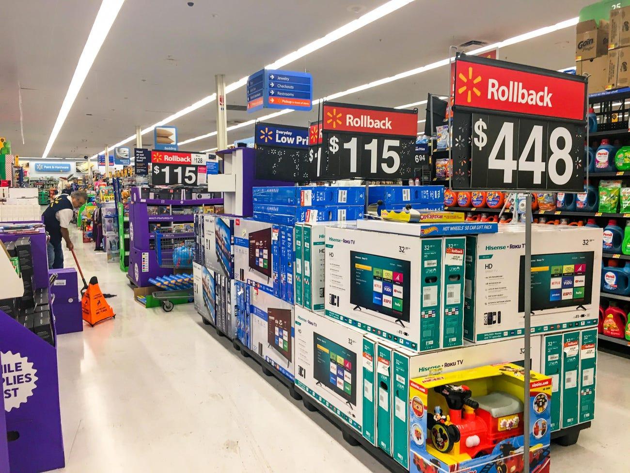Walmart on Black Friday 2019.
